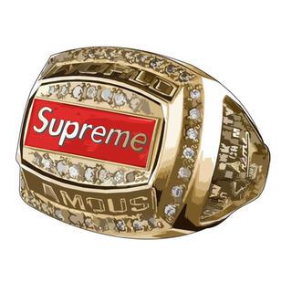 シュプリーム(Supreme)のSupreme World Famous Champion Ring(リング(指輪))
