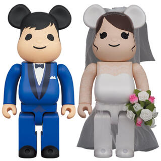 BE@RBRICK グリーティング結婚 4 PLUS 400% 100% セット(その他)