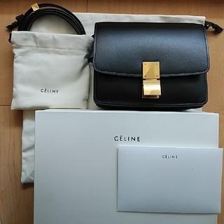 celine - 旧ロゴ クラシックボックススモール黒 フィービー期