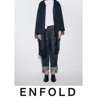 ENFOLD - enfold パンツ デニム エンフォルド  トラウザー