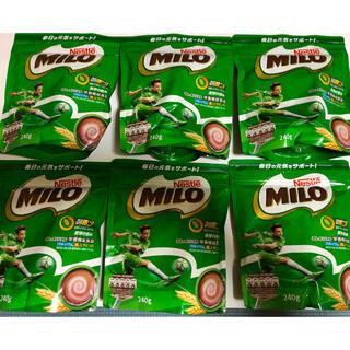 ネスレ(Nestle)のミロ オリジナル 240g 6袋(その他)