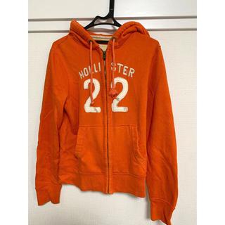 ホリスター(Hollister)のホリスター パーカー アメリカ 輸入 オレンジ usmade orange(パーカー)