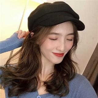 キャップ レディース メンズ ブラック 黒 韓国 帽子 リング ブランド 新品