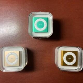 アイポッド(iPod)のiPod Shuffle グリーン、イエロー、ゴールド バラ売り可(ポータブルプレーヤー)