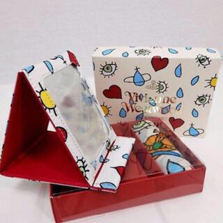 ヴィヴィアンウエストウッド(Vivienne Westwood)のヴィヴィアン プレゼント ミラー 鏡 新品(ミラー)