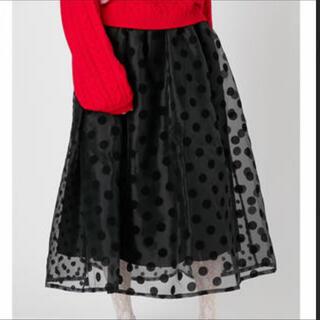 merry jenny - merry jenny ドッドチュールスカート