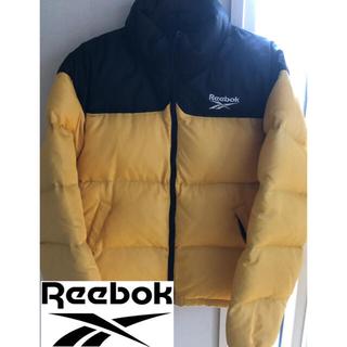 Reebok - 希少‼︎ リーボック ダウンジャケット 黄色/ M