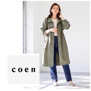 coen - coen コーエン 撥水 モッズコート マウンテンパーカー スプリングコート