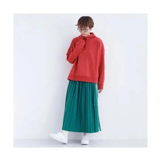 merlot - ♥merlot♥サイドラインプリーツスカート
