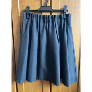 アーバンリサーチロッソ(URBAN RESEARCH ROSSO)のROSSO ロッソ 黒スカート ゴムウェスト Mサイズ(ひざ丈スカート)