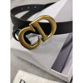 Dior - DIOR サドル マットカーフスキン ベルト 80
