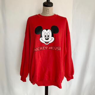 Disney - USED レトロミッキースウェット
