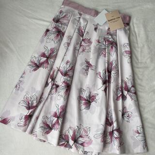 Apuweiser-riche - 新品タグ付き アプワイザーリッシェ♡花柄スカート