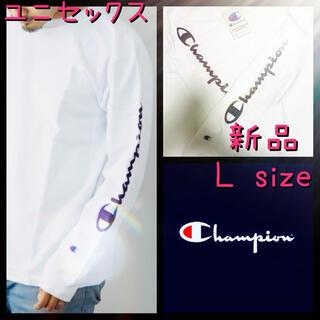 Champion - ユニセックス champion チャンピオン ロングTシャツ 長袖 L