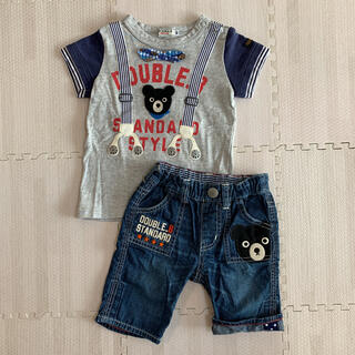 DOUBLE.B - ダブルビー ティシャツ、パンツセット