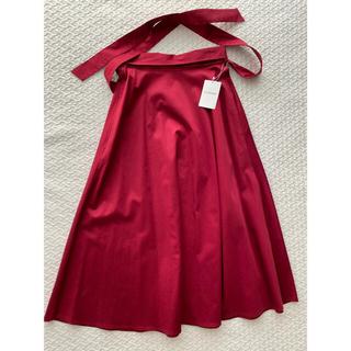 JILLSTUART - 新品◎JILLSTUART 後ろリボン付き フレアスカート
