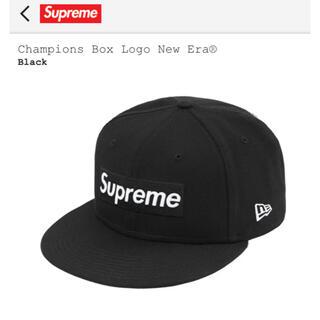 シュプリーム(Supreme)の21ss supreme new era black(キャップ)