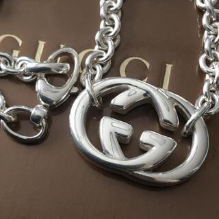 Gucci - GUCCI インターロッキング ネックレス 極美品
