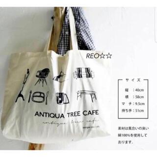 antiqua - antiqua♛ノベルティ トートバッグ