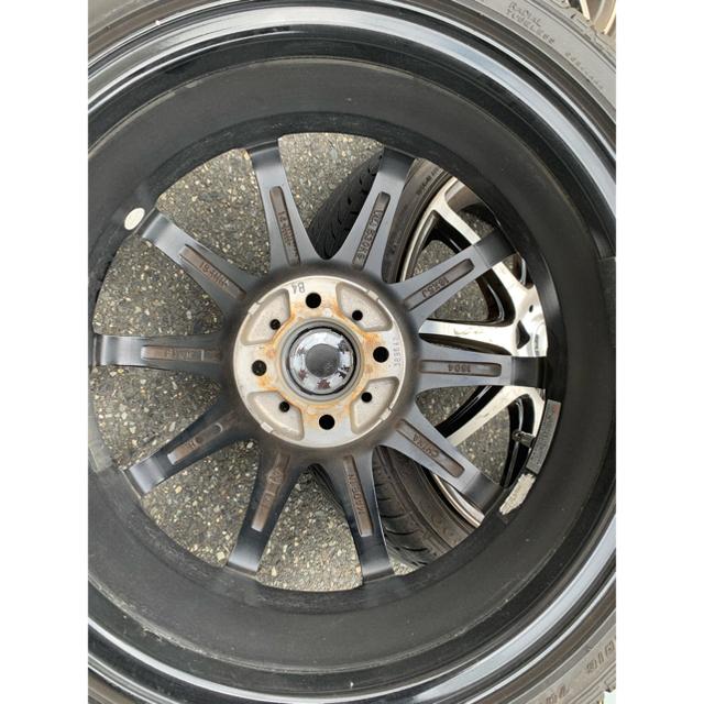 Goodyear(グッドイヤー)のアルミホイール16インチ タイヤばり山 pcd100 5J +45 自動車/バイクの自動車(タイヤ・ホイールセット)の商品写真