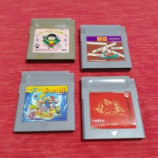 ゲームボーイ(ゲームボーイ)のGB ゲームボーイソフト 4本まとめセット 6つの金貨 など(家庭用ゲームソフト)
