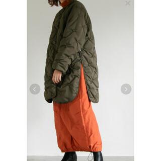 Kastane - kastane 柄刺繍キルティングコート