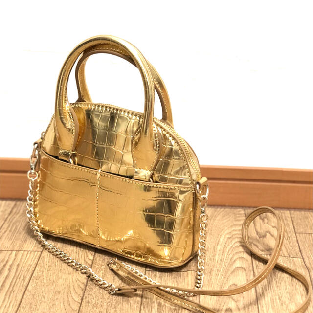 ZARA(ザラ)のZARA ミニボストンバッグ レディースのバッグ(ハンドバッグ)の商品写真