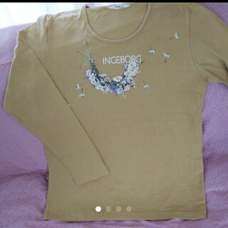 インゲボルグ 長袖 Tシャツ