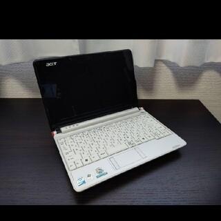 エイサー(Acer)のAcer Aspire one AOA150-Bw 白 美品 中古(ノートPC)