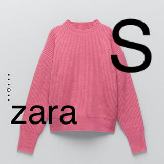 ZARA - ZARA 裏編みニットウールセーター S