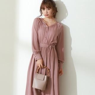 PROPORTION BODY DRESSING - 【新品未使用タグ付き】前後2Wayサテンシャツワンピース