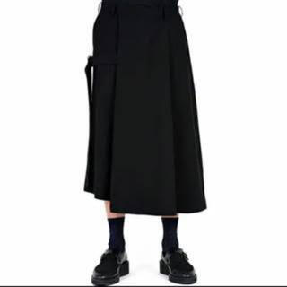 LAD MUSICIAN - LAD MUSICIAN CROPPED FLARE WIDE PANTS 46
