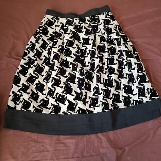 【ブリジット】フレアスカート(ひざ丈スカート)