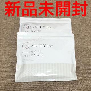 クオリティファースト(QUALITY FIRST)のシートマスク 50% プラセンタ配合 30枚入りx2(パック/フェイスマスク)