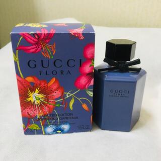 Gucci - 新品 グッチ フローラ ゴージャスガーデニア ラベンダー 限定香水 50ml