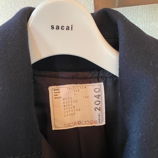 sacai(サカイ)のsacai 2019aw ドッキングコート 値下げ検討 メンズのジャケット/アウター(トレンチコート)の商品写真