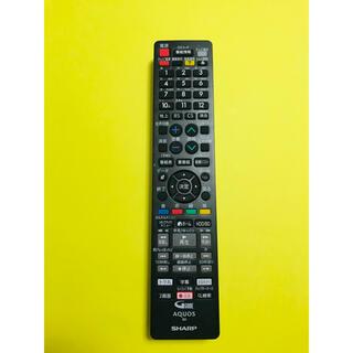 AQUOS - シャープ AQUOS ブルーレイ テレビリモコン GB212PA