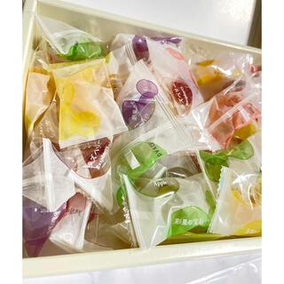 ミツコシ(三越)のさくらんぼ様専用 彩果の宝石 フルーツゼリーコレクション【49個】(菓子/デザート)