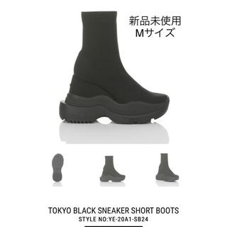Yellow boots - YELLO スニーカーブーツ Mサイズ 新品未使用