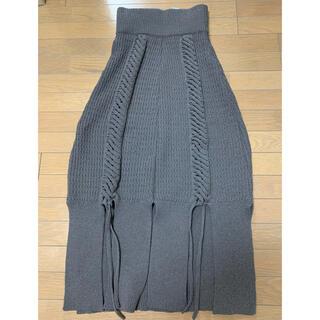 mame - malamuteニットスカート