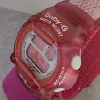 ベビージー(Baby-G)のBaby-G 370 wccs カスタム染色ローズピンク💕(腕時計)