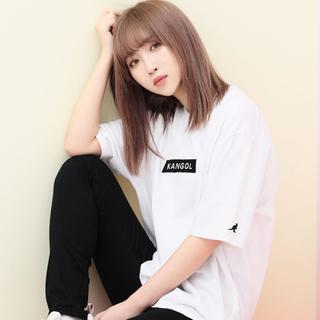 カンゴール(KANGOL)のKANGOL カンゴール Tシャツ ホワイト Lサイズ(Tシャツ/カットソー(半袖/袖なし))