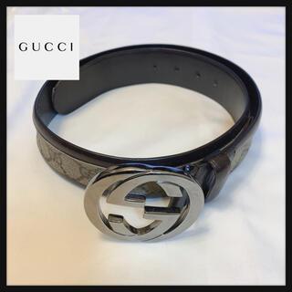 Gucci - 【大人気モデル‼️】GUCCI グッチ ベルト GG柄 イタリア製
