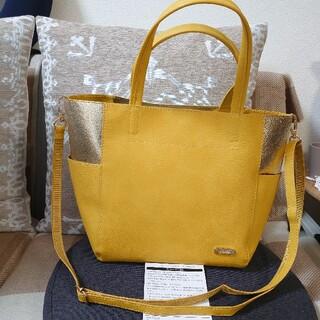 レリアン アニバーサリーフェア記念品 ノベルティ 非売品 2wayバッグ 黄色