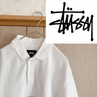 STUSSY - STUSSY ロゴ刺繍 パイル地