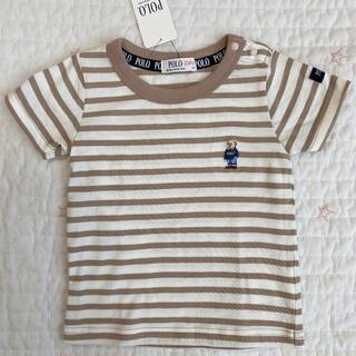 ポロベビー ベア 半袖Tシャツ ボーダー 90(Tシャツ/カットソー)