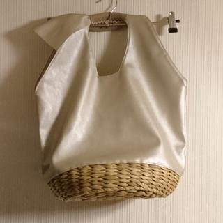 IENA - 美品 ajew エジュー Cosy basket bag かご バッグ