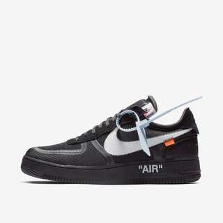 OFF-WHITE - NIKE×OFF-WHITE THE TEN AIRFORCE 1 オフホワイト