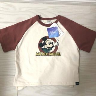 フタフタ(futafuta)のfutafuta レトロミッキーTシャツ 100(Tシャツ/カットソー)