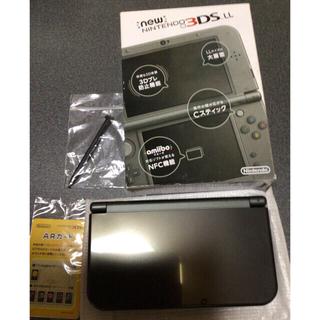 ニンテンドー3DS - 3DSLL NEW ニンテンドー 3DS 本体 LL メタリックブラック